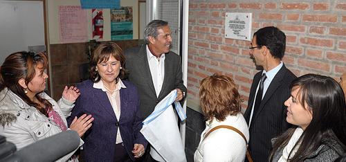 Sapag inauguró un centro de salud en Colonia Rural Nueva Esperanza.
